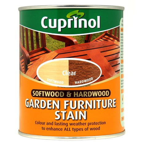 Cuprinol Softwood & Hardwood Garden Furniture Stain - Clear 750ml (5158527)