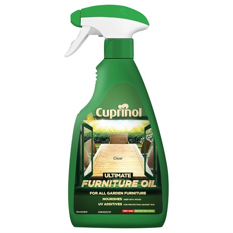 Cuprinol Ultimate Furniture Oil - Clear Spray 500ml (5212401)