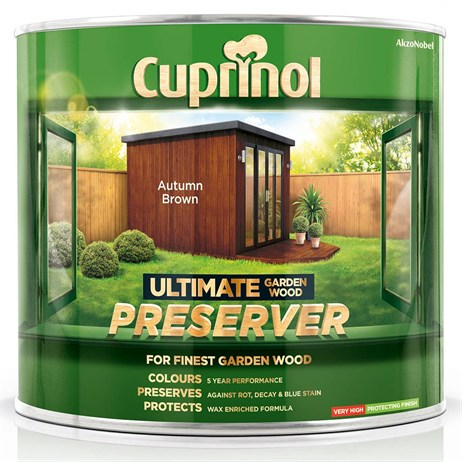 Cuprinol Ultimate Garden Wood Preserver - Autumn Brown 1L (5206051)