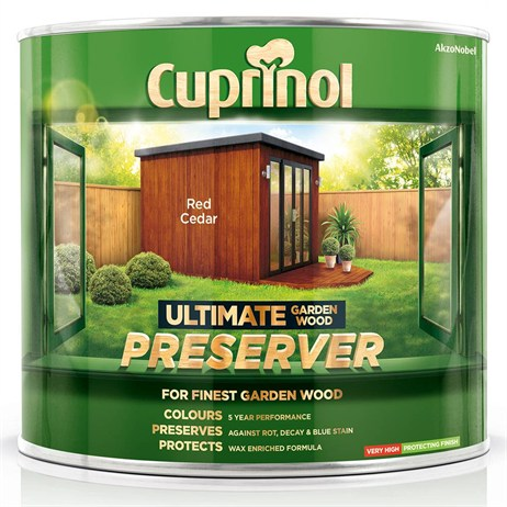 Cuprinol Ultimate Garden Wood Preserver - Red Cedar 1L (5206081)