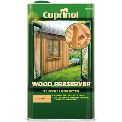 Cuprinol Wood Preserver - Clear 5L (5083488)