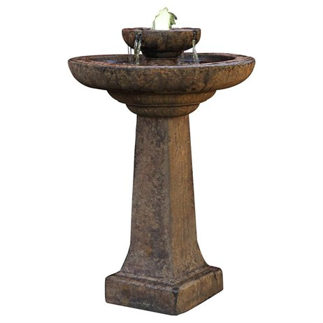 DIRECT DISPATCH Henri Studio Aquarius Fountain Water Feature With Light (H4471F2LRL)