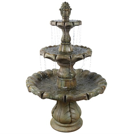 DIRECT DISPATCH Henri Studio Classical Finial Fountain Water Feature (H5768F6RN)