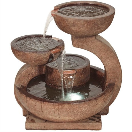 DIRECT DISPATCH Henri Studio Zen Fountain Water Feature (H4033F2RL)