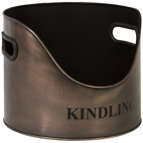 Direct Dispatch Ivyline Copper Round Kindling Holder (WFCRKH)