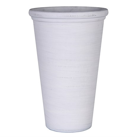 Direct Dispatch Ivyline Natural Whitewash Vase (GR130003)