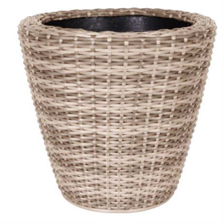 Direct Dispatch Ivyline Rattan Planter (WFRP3432NT)
