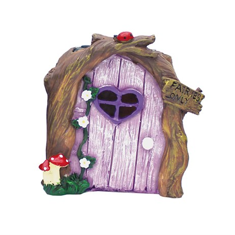 Eden Bloom The Willowdale Collection - Fairy Doors - Purple (L26236)