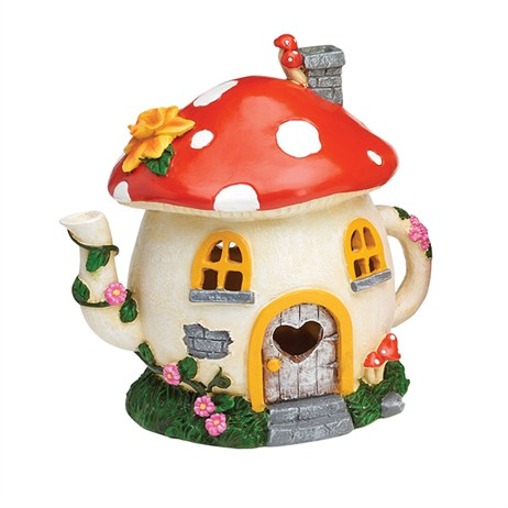 Eden Bloom The Willowdale Collection - Mushroom Fairy House Light - Medium (L26234)