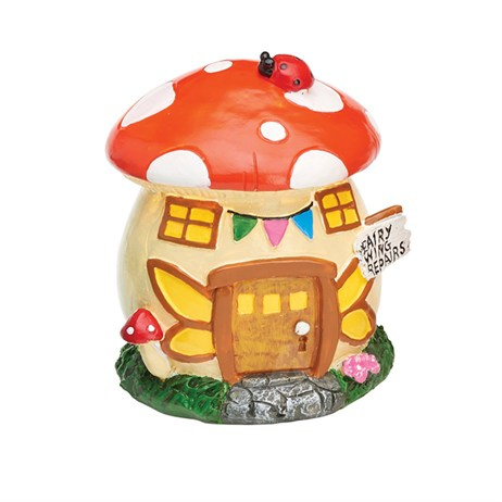 Eden Bloom The Willowdale Collection - Mushroom Fairy House Light - Small (L26235)