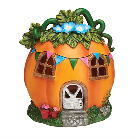 Eden Bloom The Willowdale Collection - Pumpkin Fairy House Light - Medium (L26234)