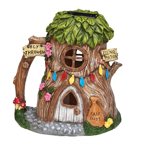 Eden Bloom The Willowdale Collection - Tree Trunk Fairy House Light - Medium (L26234)