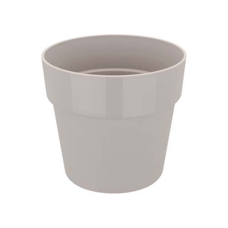 Elho B.For Original Round Pot - 16cm Pot - Warm Grey (9261501640300)