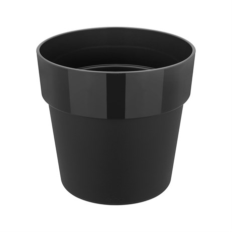 Elho B.For Original Round Mini 11cm Plant Pot - Living Black (9261301143300)