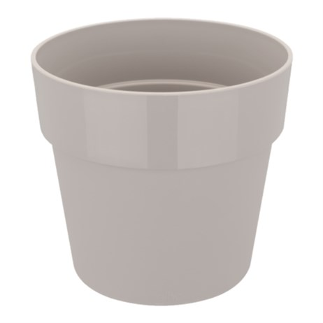 Elho B.For Original Round Mini 7cm Plant Pot - Warm Grey (9261300740300)