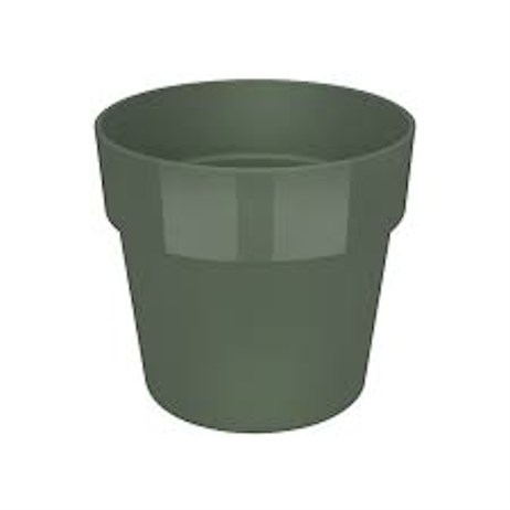 Elho B.For Original Round Mini 9cm Plant Pot - Leaf Green (9261300936000)
