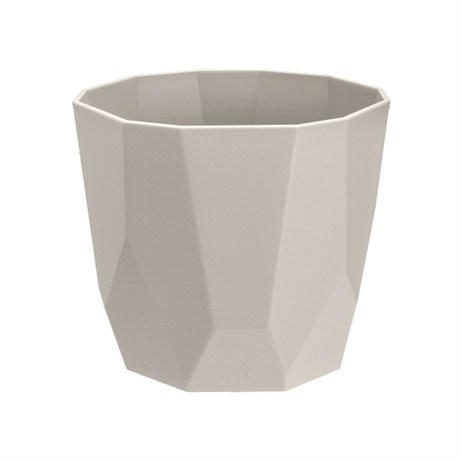 Elho B.For Rock Flower Pot - 16cm - Warm Grey (4201501640300)