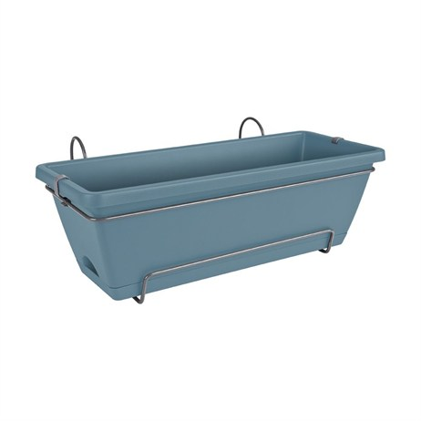 Elho Barcelona All In One 50cm Trough - Vintage Blue (5011805054200)