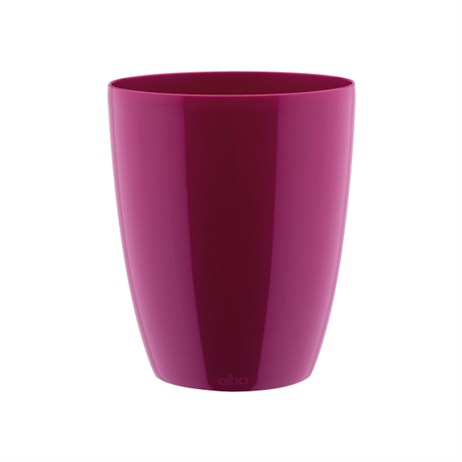 Elho Brussels Diamond Orchid High Plant Pot - 12.5cm - Cherry (8141561323501)