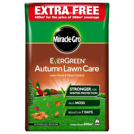 Evergreen Autumn Lawn Food 360m + 10% Extra Free (119498)