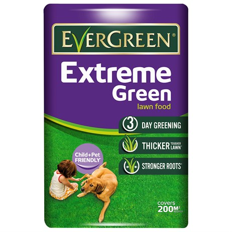 Evergreen Extreme Green Lawn Feed 200m Bag (015025)