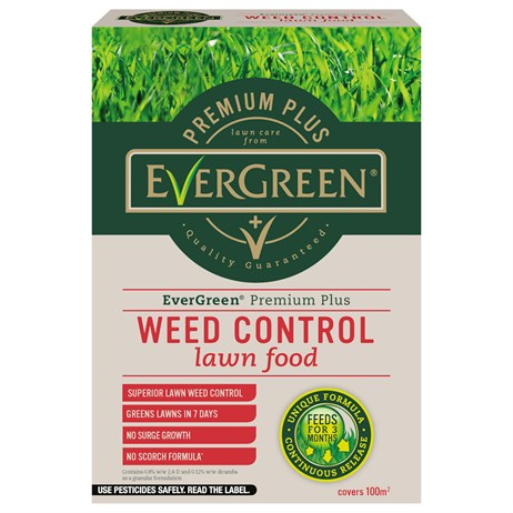 Evergreen Premium Plus Feed & Weed Lawn Feed 100m (119521)