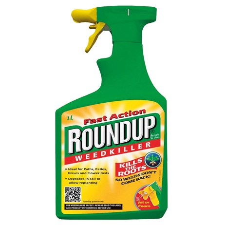 Fast Action Roundup Ready to Use Weedkiller 1L & 20% Extra Free (017829)