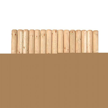 Forest Garden Wooden Border Section - 30cm (FBS12)
