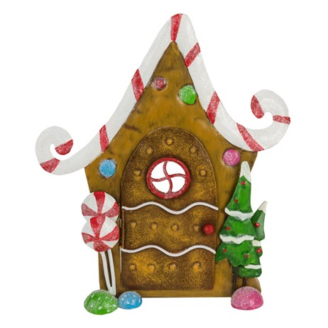 Fountasia Christmas Gingerbread Christmas Door Decoration (79527)