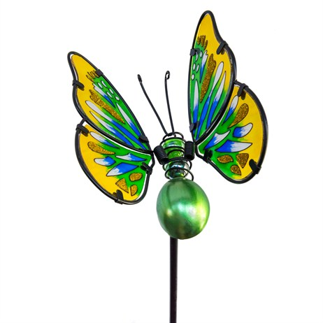 Fountasia Garden Stake - Large Butterfly Stakes - Green (35067)