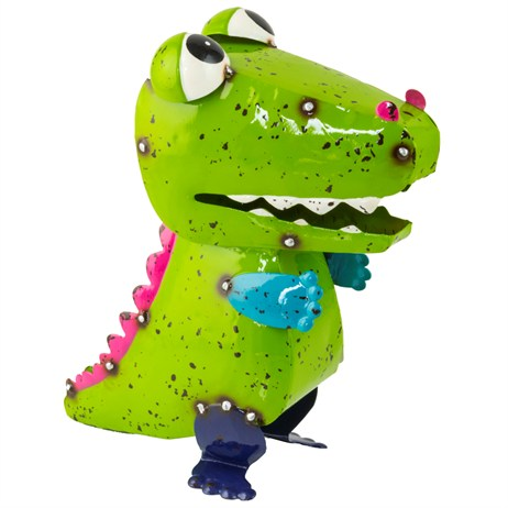 Fountasia Metal Ornament - Calvin The Crocodile (69005)
