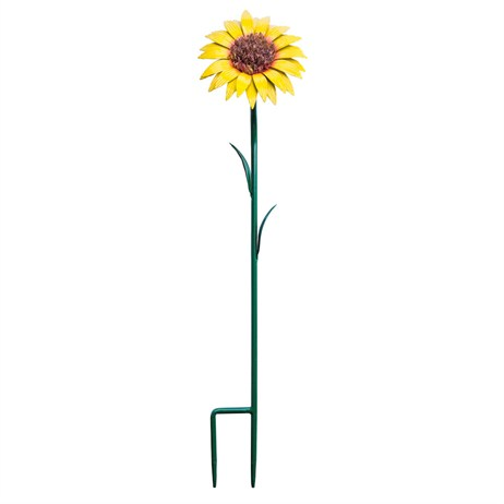 Fountasia Metal - Sunflower Stake - Large (52304)