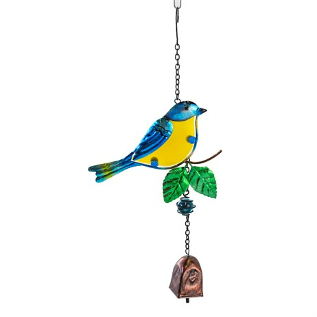 Fountasia Musical Ornament - Blue Tit Hanging Bell (35071)