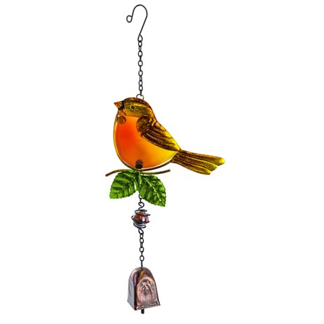 Fountasia Musical Ornament - Robin Hanging Bell (35070)