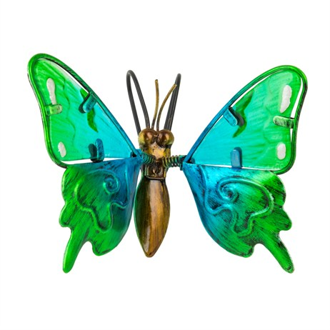 Fountasia Pot Hanger - Butterfly Small - Green (35115)