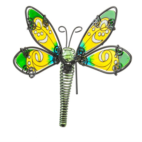 Fountasia Pot Hanger - Fancy Dragonfly Small - Green (35102)