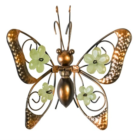 Fountasia Pot Hanger - Glow In The Dark Butterflies - Floral Wings (35430)
