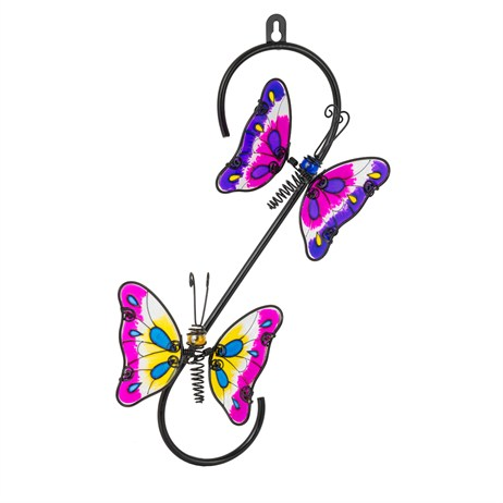 Fountasia Wall Art - Butterfly Hook (93718)