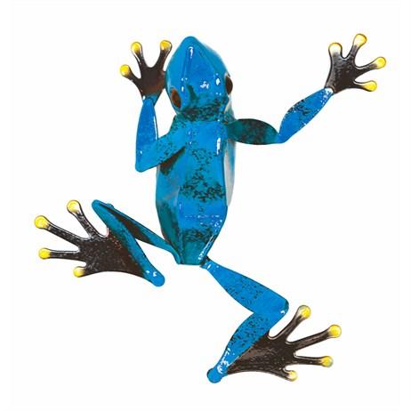 Fountasia Wall Art - Frog Small - Blue (93658)