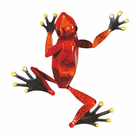 Fountasia Wall Art - Frog Small - Red (93658)