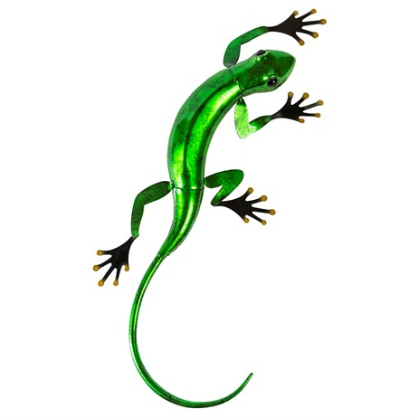 Fountasia Wall Art - Gecko Large - Green (93680)