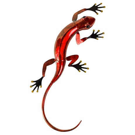 Fountasia Wall Art - Gecko Large - Red (93680)