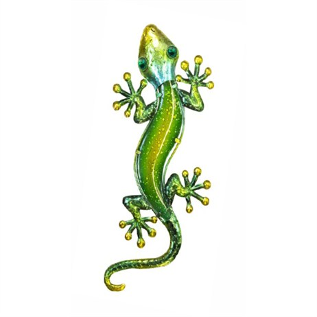 Fountasia Wall Art - Gecko - Medium - Green (35109)
