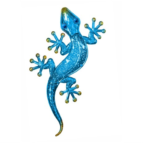 Fountasia Wall Art - Gecko - Small - Blue (35108)
