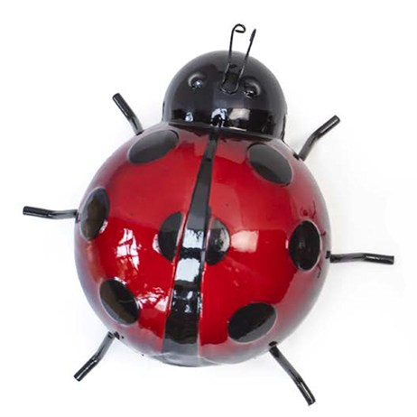 Fountasia Wall Art - Ladybird Large - Red (93600)
