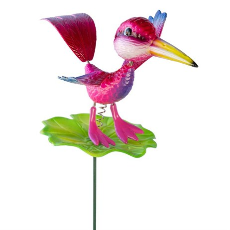 Fountasia Wobbler - Birds Wobblers- Pink Bird (88084)