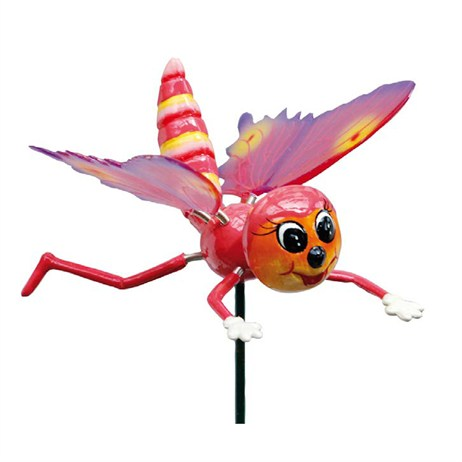 Fountasia Wobbler - Dragonfly - Pink Wobbler (88013)
