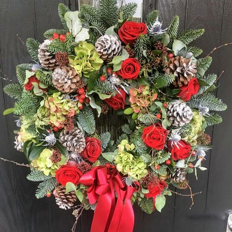 PAST EVENT - Bagshot Luxury Christmas Wreath Workshop - Thursday 5th December 2019