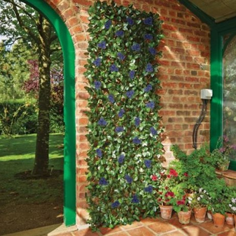 Gardman Blue Ipomoea Artificial Trellis - Small (03017)
