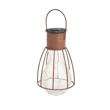 Gardman Caged Lightbulb Lantern (L23004)